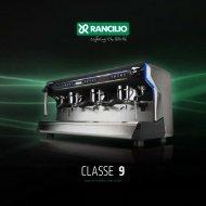 Rancilio Classe 9 Catalog - Espressotec