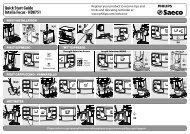 Quick Start Guide Intelia Focus - HD8751 - Philips