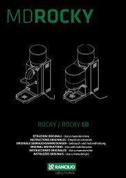 ROCKY / ROCKY SD - Espressotec