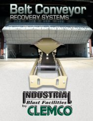 Belt Conveyor Recovery Systems (Rev. B) - Clemco Industries Corp.
