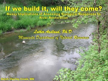 If we build it, will they come? Messy Implications of Assessing ...