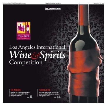 LA Times Wine Supplement 2012 - Fairplex