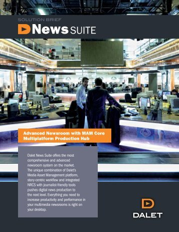 News SUITE - Dalet Digital Media Systems