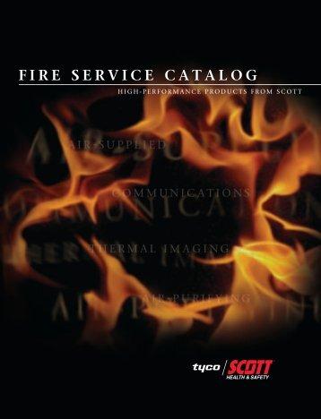 FIRE SERVICE CATALOG