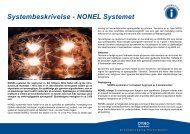 Systembeskrivelse - NONEL Systemet