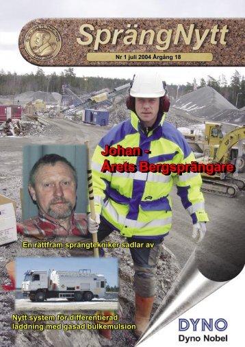 SprengNytt Nummer 1_2004.pdf - Orica Mining Services