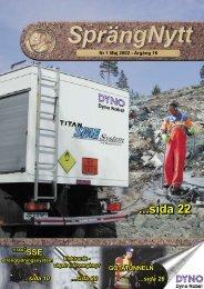 SprengNytt Nummer 1_2002.pdf - Orica Mining Services