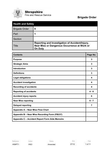Incident/Near Miss Investigation Report - EWB-NEU