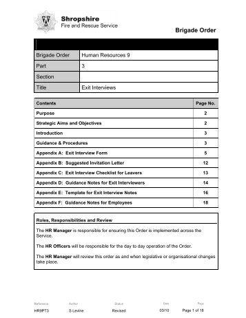 exit interview questions and answers pdf