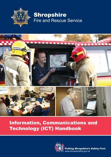 (ICT) Handbook - Shropshire Fire and Rescue Service