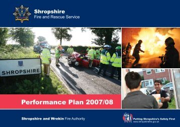 Contents - Shropshire Fire and Rescue Service