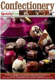 Confectionery 2009 - Speciality Food Magazine