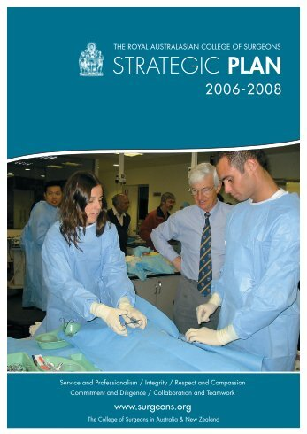 Strategic Plan 2006-2008 - Royal Australasian College of Surgeons