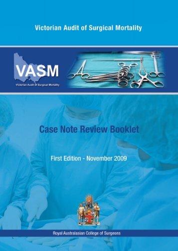 Edition 1 - Royal Australasian College of Surgeons