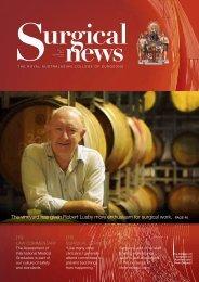 Surgical News - volume 11 number 8 September 2010 - Royal ...