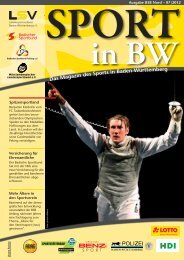 Ausgabe BSB Nord – 07 | 2012 SPORT In BW - TSV 1848 Bad ...