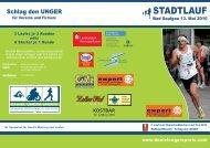 STADTLAUF - TSV 1848 Bad Saulgau eV