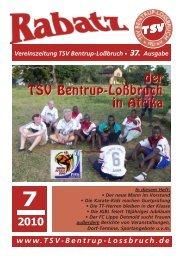 (Nr. 37) (im PDF-Format) - TSV Bentrup-Lossbruch
