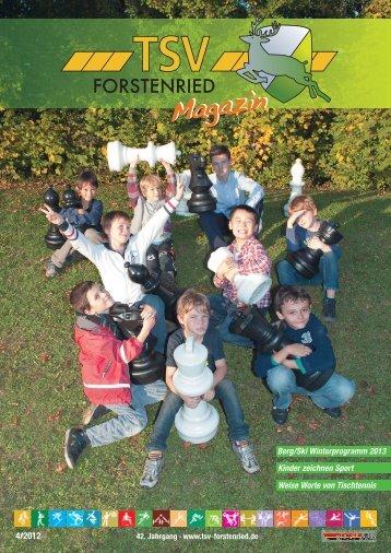 Ausgabe 4 - TSV Forstenried München e.V.