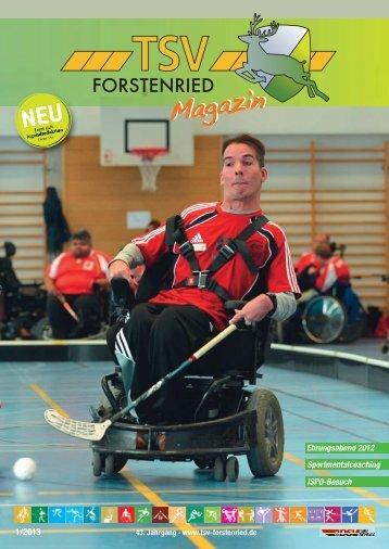 Ausgabe 1 - TSV Forstenried München e.V.
