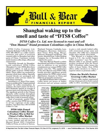 DTS8 Coffee Co. Ltd.
