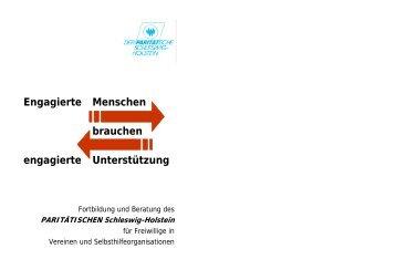 PARITÄTISCHEN Schleswig-Holstein - engagiert-in-sh
