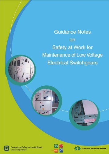 Safety at Work for Maintenance if Low Voltage Electrical Switchgears