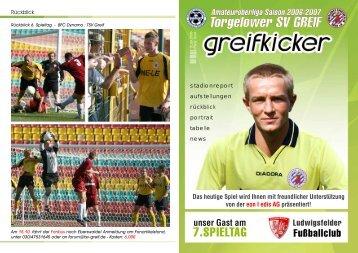 7.SPIELTAG - Torgelower SV Greif e. V.