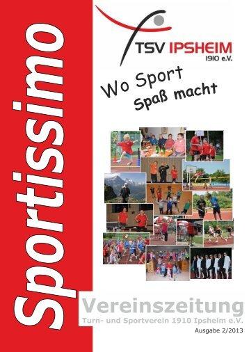 Sportissimo Nr. 20 Dezember 2013 - TSV Ipsheim