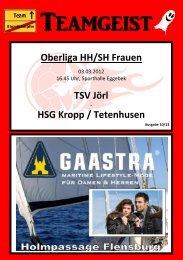 HSG Kropp / Tetenhusen - TSV-Jörl