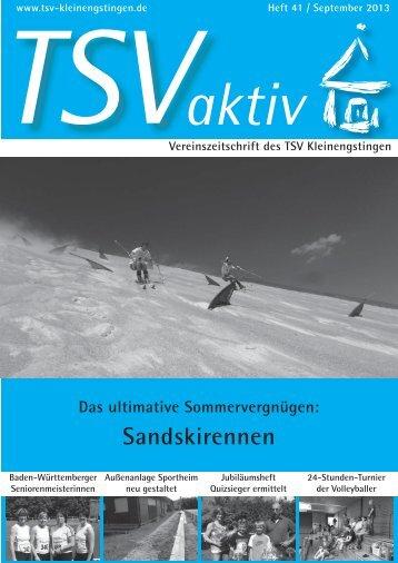 Heft41/Sep 13 (9,0 MB) - TSV Kleinengstingen