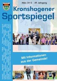 März - TSV Kronshagen