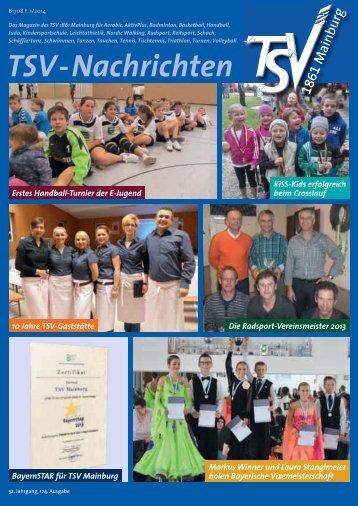 TSV-Nachrichten 1/2014 - TSV Mainburg