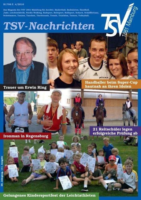 TSV-Nachrichten 4/2010 - des TSV 1861 Mainburg eV