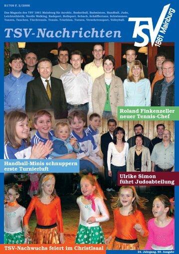 TSV-Nachrichten 2/2006 - des TSV 1861 Mainburg eV