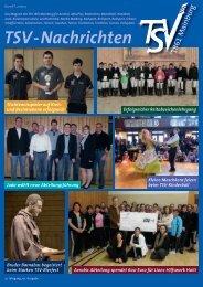 TSV-Nachrichten 2/2013 - des TSV 1861 Mainburg eV