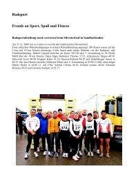 Bericht TSV-Zeitung Ausgabe 2