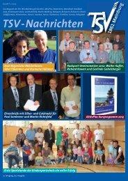 TSV-Nachrichten 1/2013