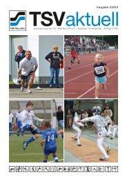 Ausgabe 2/2013 - TSV 1880 Neu-Ulm