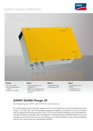Sunny ISLAND Charger 50 - Photovoltaik4all.de