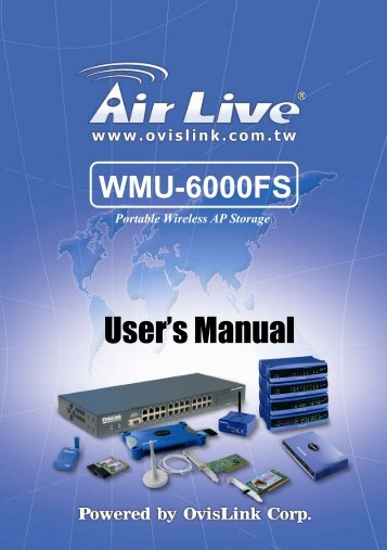 User's Manual - Airlive