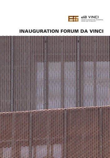 inauguration forum da vinci - Revue Technique Luxembourgeoise