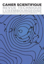 Cahier Scientifique 01 | 2012 (PDF) - Revue Technique ...