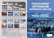 Ctp fly-Car heft Arvidsjaur Winter 2009-2010, CMYK, 20-seitig ...