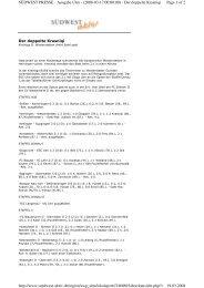 Page 1 of 2 SÜDWEST PRESSE - Ausgabe Ulm - (2008-03-17 00 ...