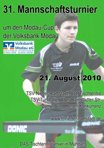 Einladungsschreiben - TSV Nieder-Ramstadt