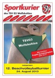 Ausgabe 2/2013 herunterladen - Turn- und Sportverein 1903 e.V. ...