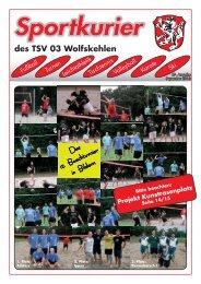 Ausgabe 3/2013 herunterladen - TSV 03 Wolfskehlen