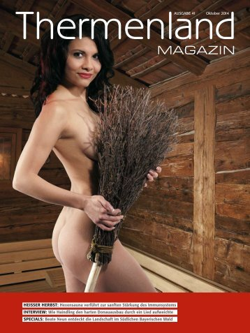 Thermenland Magazin Oktober 2014