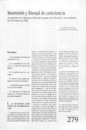Insumisión y libertad de conciencia - Helvia